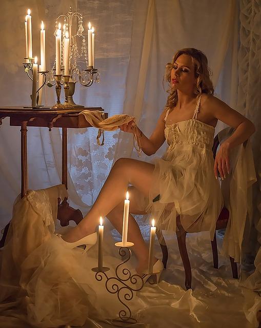 Les bougies comme jouets sexuels