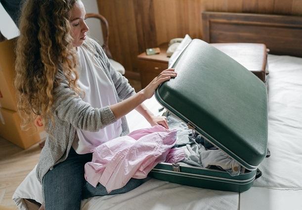 valise pour la virée romantique
